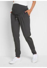 Spodnie ciążowe shirtowe, Punto di Roma bonprix szary. Kolekcja: moda ciążowa. Kolor: szary