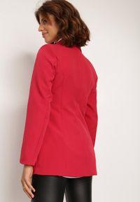 Renee - Czerwona Marynarka Cileia. Kolor: czerwony. Styl: glamour, klasyczny #3