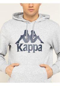 Kappa Bluza Taino 705322 Szary Regular Fit. Kolor: szary