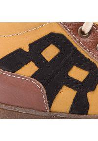 RenBut - Trzewiki RENBUT - 13-1501 Miodowy. Kolor: brązowy, wielokolorowy, żółty. Materiał: skóra, nubuk. Szerokość cholewki: normalna. Sezon: zima, jesień
