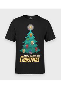 MegaKoszulki - Koszulka męska Marvel christmas. Materiał: bawełna. Wzór: motyw z bajki