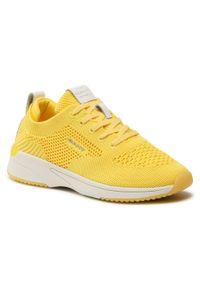 Sneakersy GANT - Delyn 22538597 Yellow G30. Okazja: na co dzień. Kolor: żółty. Materiał: materiał. Szerokość cholewki: normalna. Sezon: lato. Styl: casual