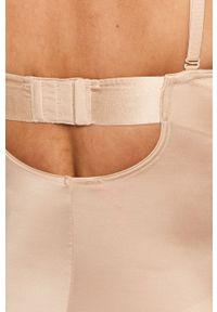 Spanx - Body modelujące Strapless Cupped. Materiał: dzianina, elastan, nylon, materiał, bawełna. Wzór: gładki #4