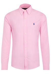 Różowa koszula casual Polo Ralph Lauren polo