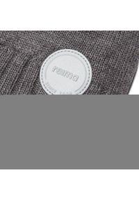 Reima - Czapka REIMA - Hazy 528667 9400. Kolor: szary. Materiał: wełna, materiał