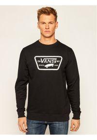 Vans Bluza Full Patch Crew II VN0A45CI Czarny Regular Fit. Kolor: czarny