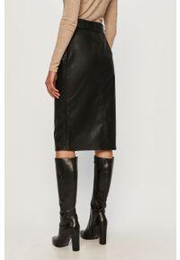 Czarna spódnica Glamorous biznesowa, z podwyższonym stanem