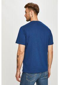 Niebieski t-shirt Levi's® z nadrukiem, na co dzień, biznesowy