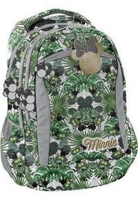 Zielony plecak Paso z motywem z bajki