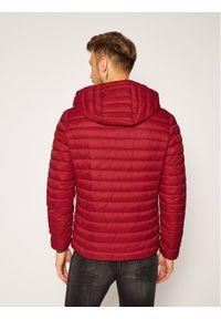 Czerwona kurtka puchowa Trussardi Jeans