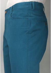 Turkusowe spodnie Ezreal casualowe, na co dzień