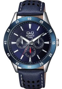Niebieski zegarek Q&Q klasyczny