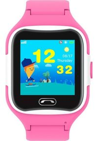Smartwatch Pacific ZY644B Różowy. Rodzaj zegarka: smartwatch. Kolor: różowy