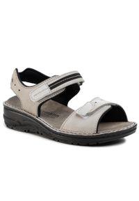 Szare sandały Berkemann