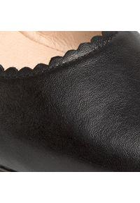 Czarne półbuty casual Caprice z cholewką