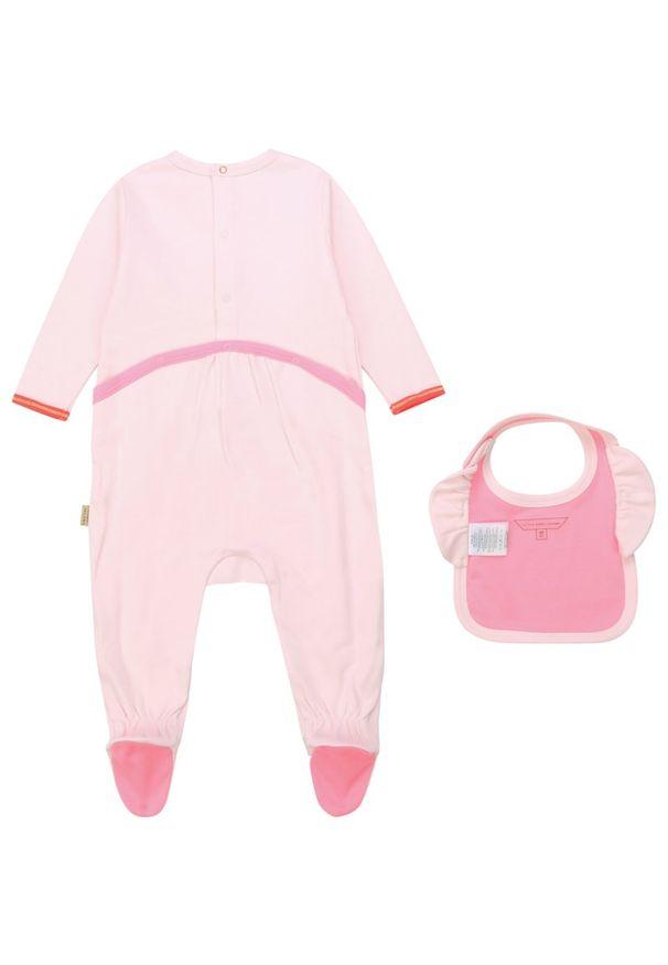 Różowe body Little Marc Jacobs