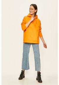 Pomarańczowa bluza Peak Performance z kapturem #5