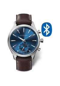 Kronaby Wodoodporny podłączony zegarek Sekel A1000-3120. Styl: retro