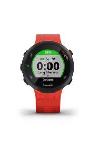 Czerwony zegarek GARMIN sportowy