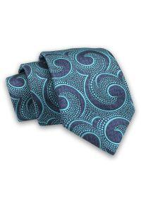 Niebieski krawat Alties klasyczny