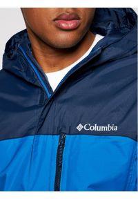 columbia - Columbia Kurtka przeciwdeszczowa Pouring Adventure II 1760061 Niebieski Regular Fit. Kolor: niebieski