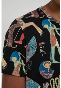 medicine - Medicine - T-shirt bawełniany Ancient Desert. Kolor: czarny. Materiał: bawełna