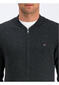 Zielony sweter klasyczny TOMMY HILFIGER