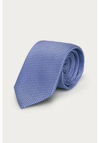 Niebieski krawat Strellson