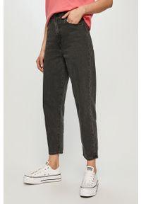 Szare jeansy loose fit Levi's® biznesowe, z podwyższonym stanem
