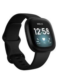 Czarny zegarek FITBIT smartwatch