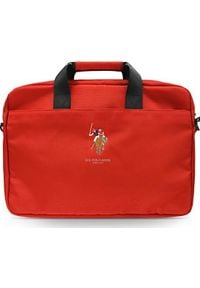 """U.S. Polo Assn - Torba U.S. Polo ASSN US Polo Torba USCB15PUGFLRE 15"""" czerwona /red. Kolor: czerwony"""