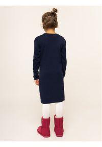 Niebieska sukienka Billieblush casualowa, prosta, na co dzień