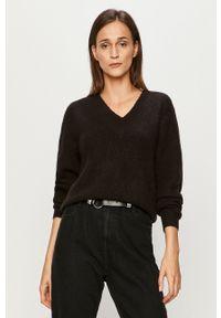 Czarny sweter only z długim rękawem, długi, casualowy, na co dzień