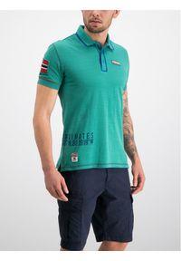Zielona koszulka polo Napapijri polo
