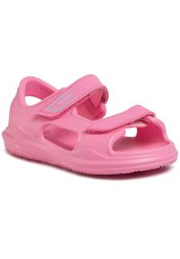 Różowe sandały Crocs
