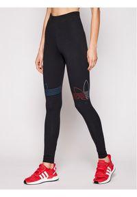 Adidas - adidas Legginsy adicolor Tricolor GN2867 Czarny Slim Fit. Kolor: czarny #1
