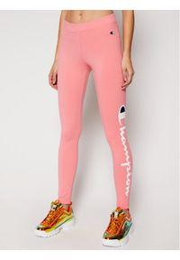 Różowe legginsy sportowe Champion
