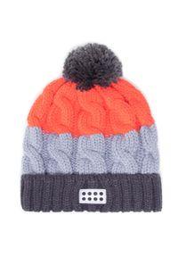 Szara czapka zimowa LEGO Wear