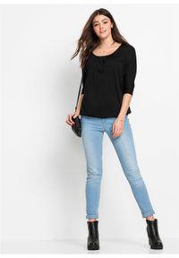 """Shirt """"oversize"""" bonprix czarny. Kolor: czarny"""