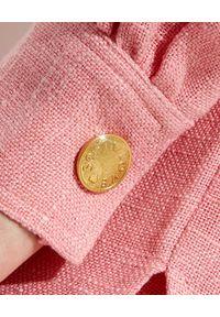 ALICE MCCALL - Różowa marynarka Queenie. Kolor: różowy, wielokolorowy, fioletowy. Materiał: materiał