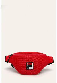 Czerwona torba podróżna Fila casualowa