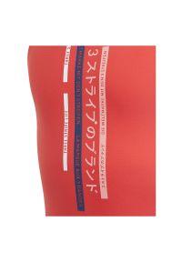 Adidas - Strój kąpielowy dla dzieci adidas Graphic Swimsuit FL8661. Materiał: nylon, materiał, elastan