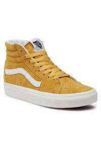 Pomarańczowe sneakersy Vans Vans SK8, z cholewką