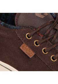 Brązowe buty sportowe Etnies z cholewką
