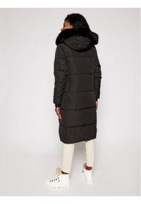 Desigual Płaszcz zimowy Katia 20WWEWB3 Czarny Straight Fit. Kolor: czarny. Sezon: zima