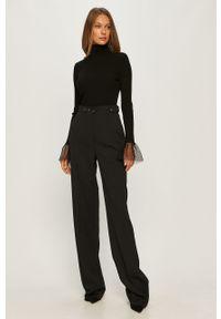 Czarne spodnie materiałowe Sportmax Code