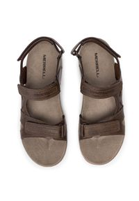 Brązowe sandały trekkingowe Merrell