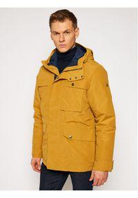 Żółta kurtka zimowa Jack Wolfskin