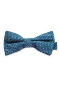 Niebieska muszka Vernon elegancka