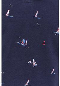 medicine - Medicine - Polo Ships & Maps. Typ kołnierza: polo. Kolor: niebieski. Materiał: dzianina. Długość: krótkie